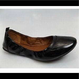 Lucky Brand Black Patent Leather Ballet Flats